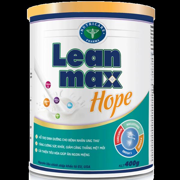Sữa Leanmax Hope cho bệnh nhân ung thư