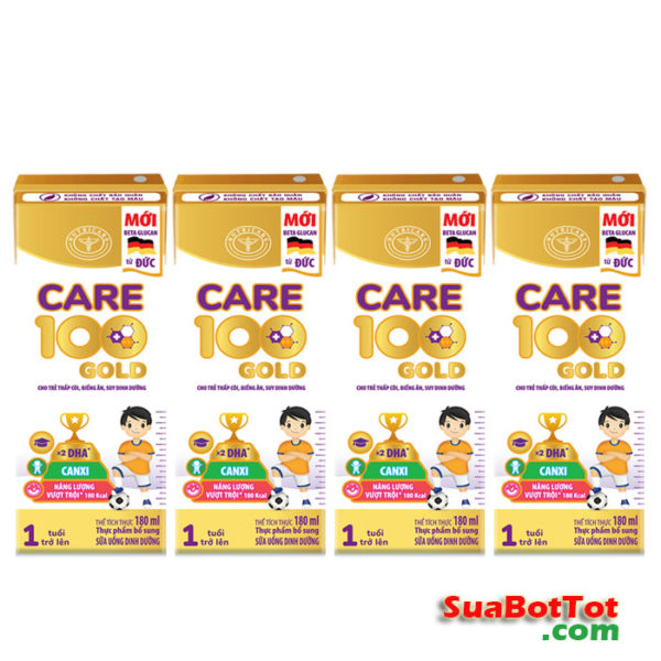Sữa Care 100 Gold pha sẵn
