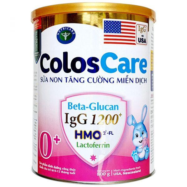 Sữa Coloscare 0+
